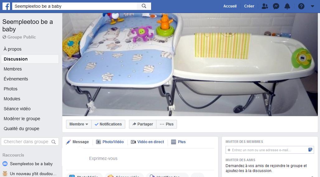 Rejoignez le groupe Facebook