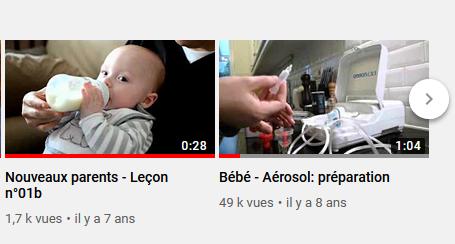Nouveaux parents - Leçons essentielles en vidéo